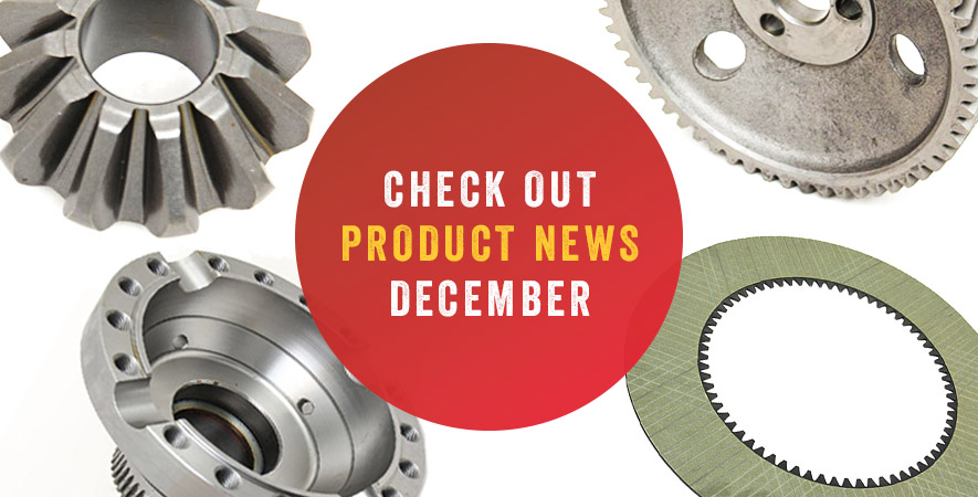 New spare parts – December 2018