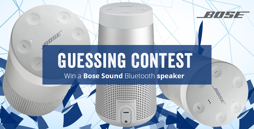 Compete and win a bluetooth speaker!