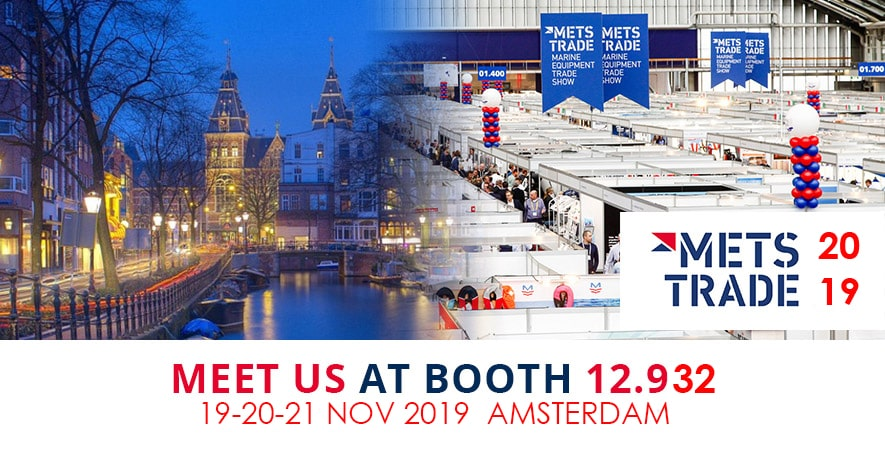 Visit us at the Metstrade show 2019