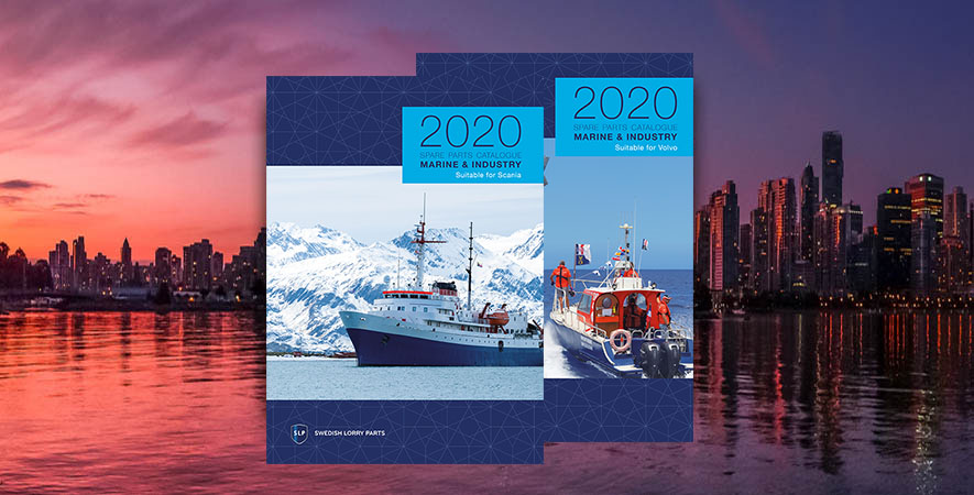 New catalogues for Marine and Industry 2020