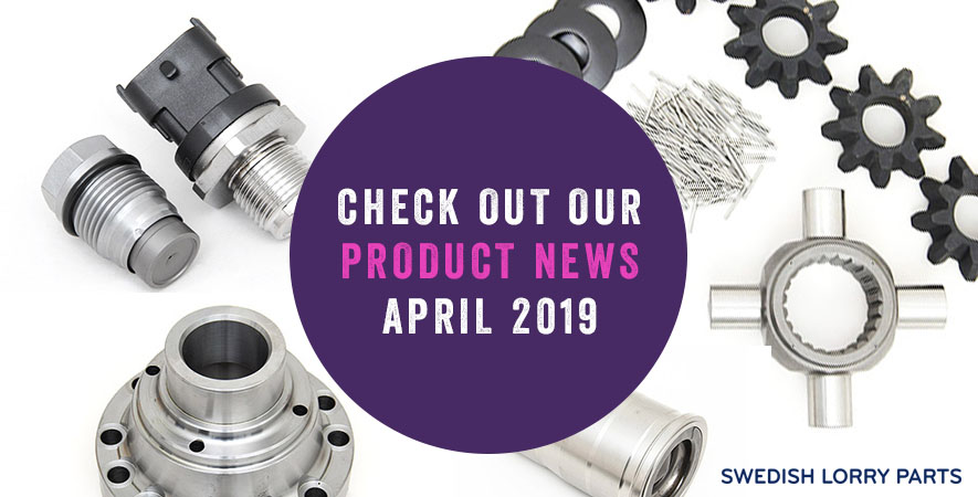 New spare parts – April 2019