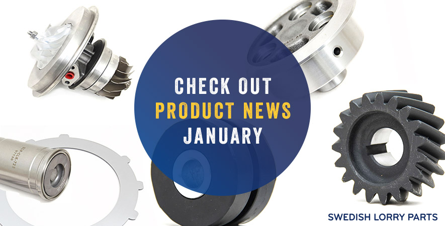 New spare parts - January 2019