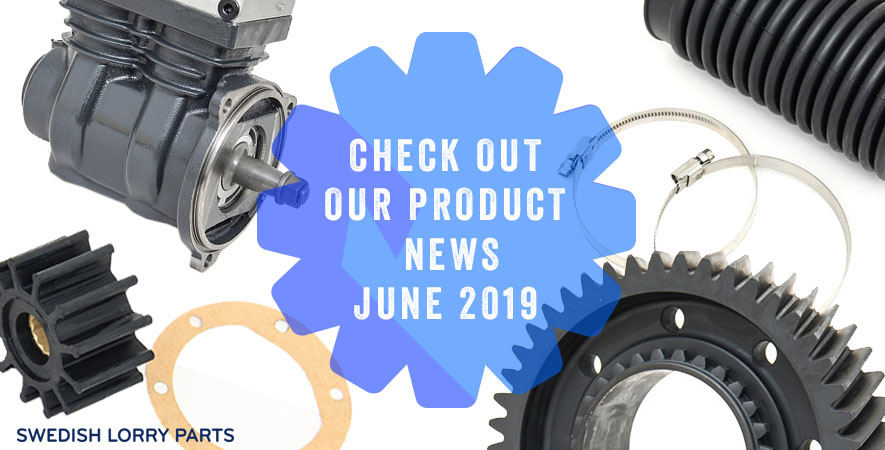 New spare parts - June 2019