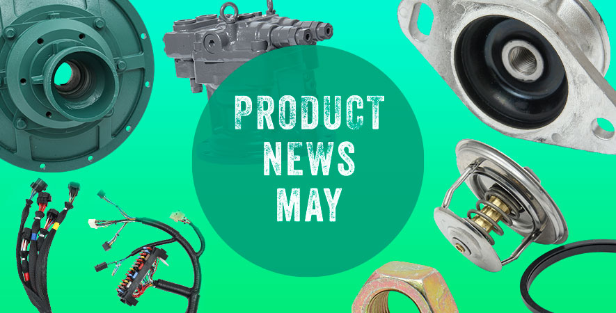 New spare parts − May 2020