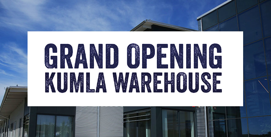 Official opening of our new warehouse