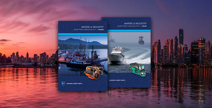 New catalogues for Marine & Industry