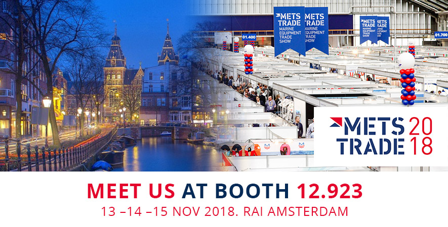 Visit us at the Metstrade show