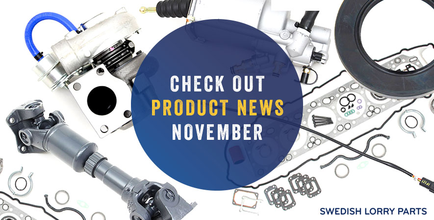 New spare parts – November 2018